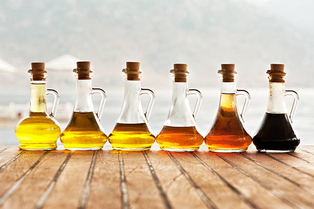 Olive Oil And Vinegar In Bottles Wall Art Photo Id 169001346