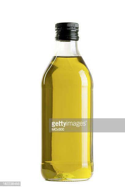 olive oil bottle - olive oil stock pictures, royalty-free photos & images