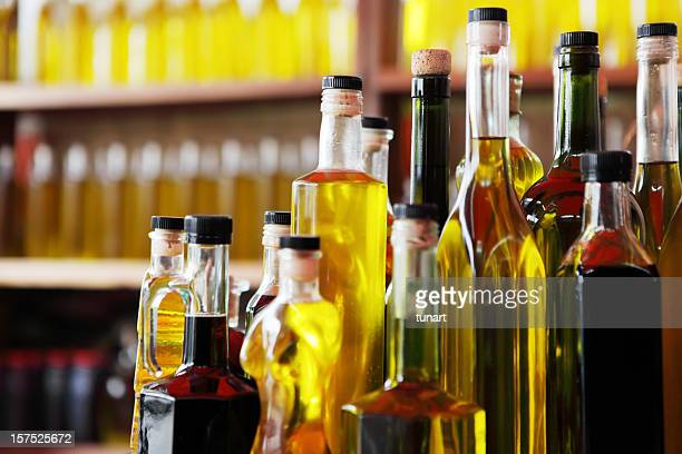 olive oil shop - olive oil stock pictures, royalty-free photos & images