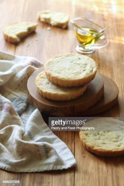 Olive Sable Cookies