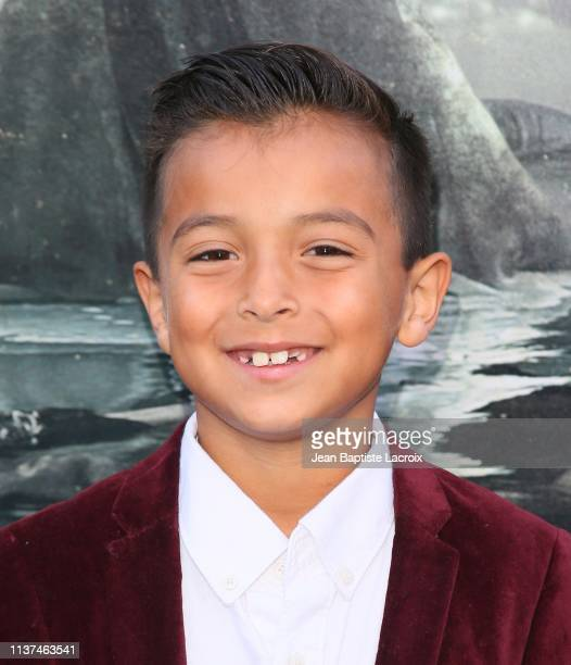 Oliver Alexander attends the premiere of Warner Bros' 'The Curse Of La Llorona' at the Egyptian Theatre on April 15 2019 in Hollywood California
