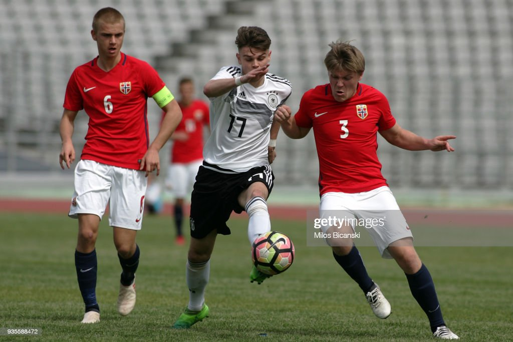 U17 Germany v U17 Norway - UEFA Under17 European Championship Qualifier
