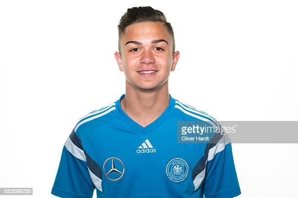 Oliver Batista Meier of Germany poses during U15 Germany Team Presentation on May 17 2016 in Leer Germany