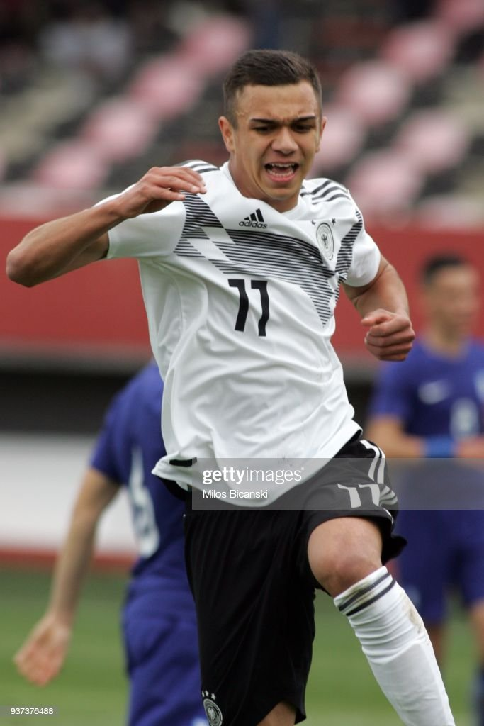 U17 Greece v U17 Germany - UEFA Under17 European Championship Qualifier
