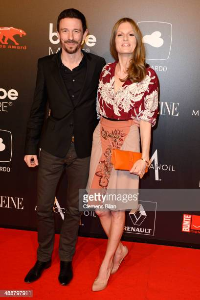 Oliver Berben and Katrin Kraus attend Leonardo at the New Faces Award Film 2014 at eWerk on May 8 2014 in Berlin Germany