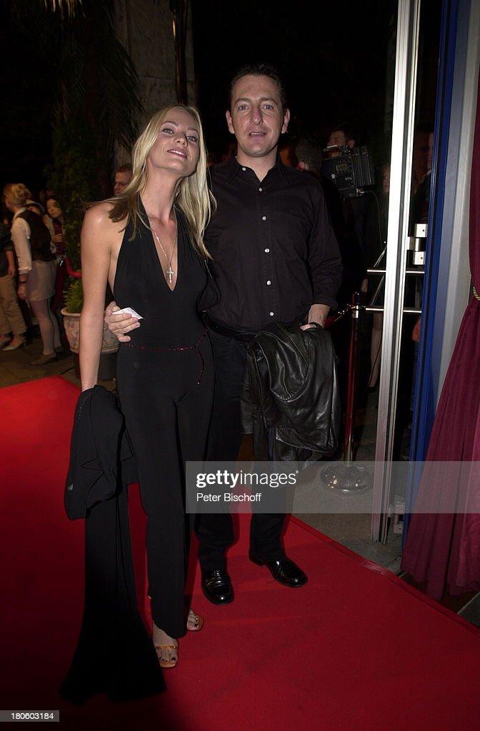 Oliver Berger, Annika Marjahn, nach der Premiere Kinofilm \'100 P ...