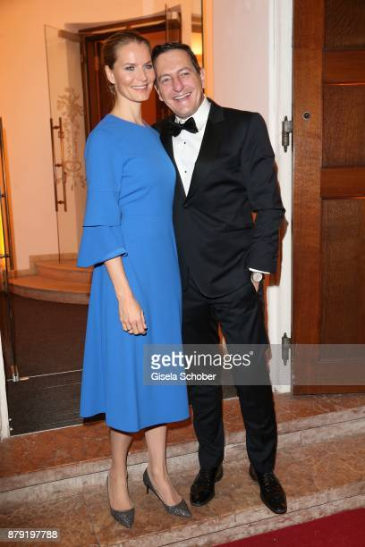 Oliver Berger son of Roland Berger and his wife Oliver Berger during the 80th birthday party of Roland Berger at Cuvillies Theatre on November 25...