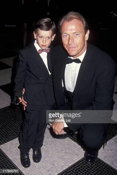 Oliver Bernsen and Corbin Bernsen during National Baseball Hall of Fame Gala at WaldorfAstoria Hotel in New York City New York United States