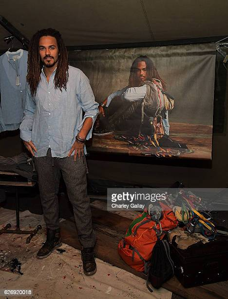 Oliver Best attends the Greg Lauren For Banana Republic Event at Greg Lauren Studio on November 30 2016 in Los Angeles California