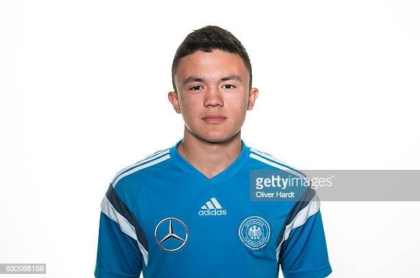 Oliver Bias of Germany poses during U15 Germany Team Presentation on May 17 2016 in Leer Germany