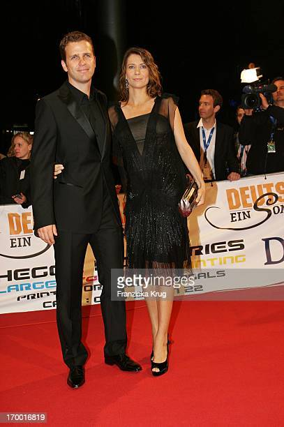 Oliver Bierhoff and his wife Klara At The Premiere Of Cinema Films By S Wortmann Germany A Summer Fairytale on 031006