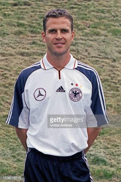 Oliver Bierhoff, deutscher Fußballspieler und Nationalspieler, Deutschland 2000
