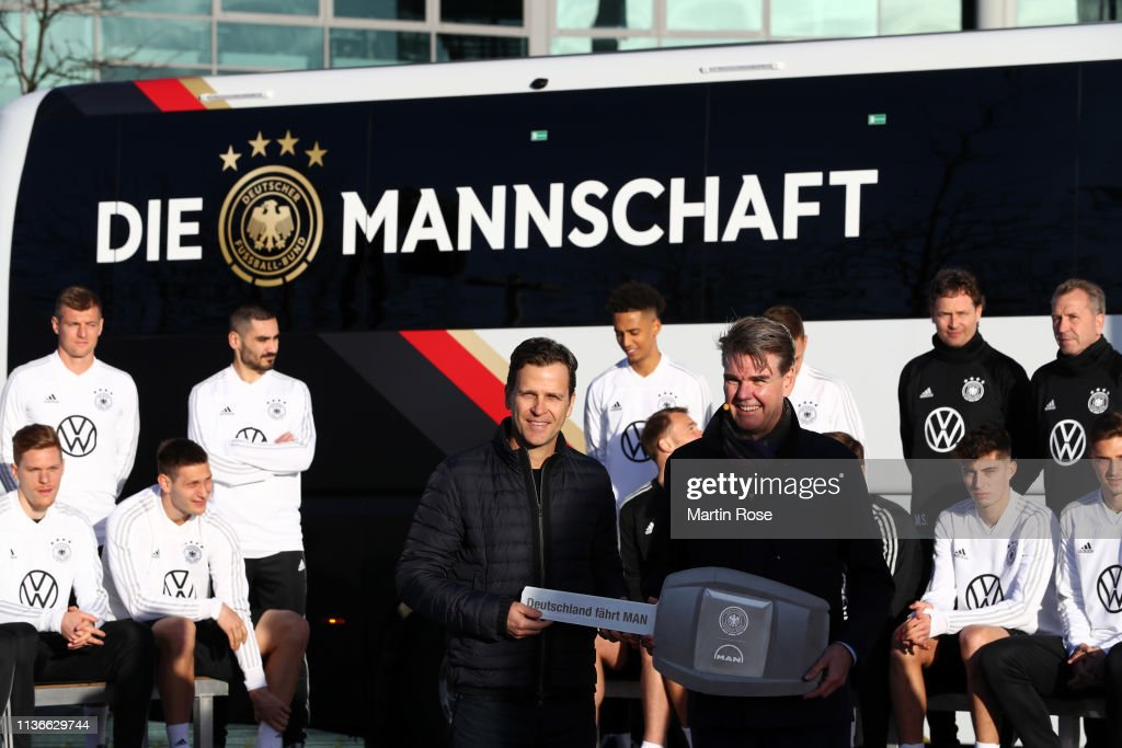 DEU: German National Team New Team Bus Handover