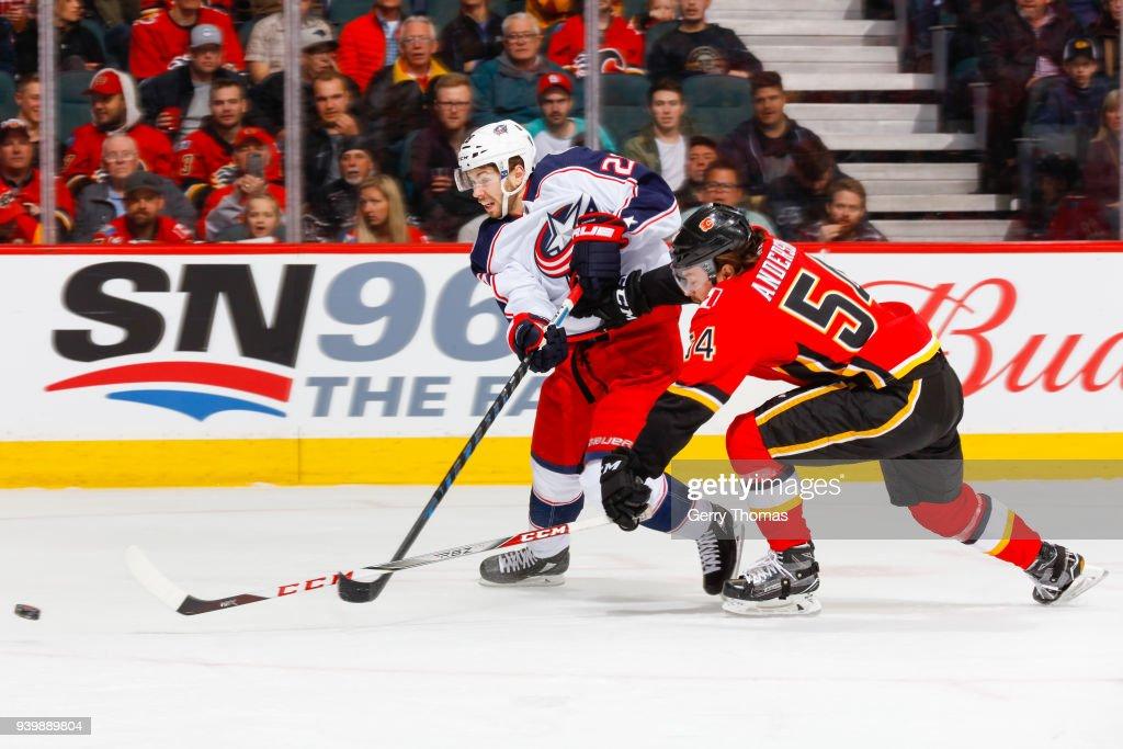 Columbus Blue Jackets v Calgary Flames
