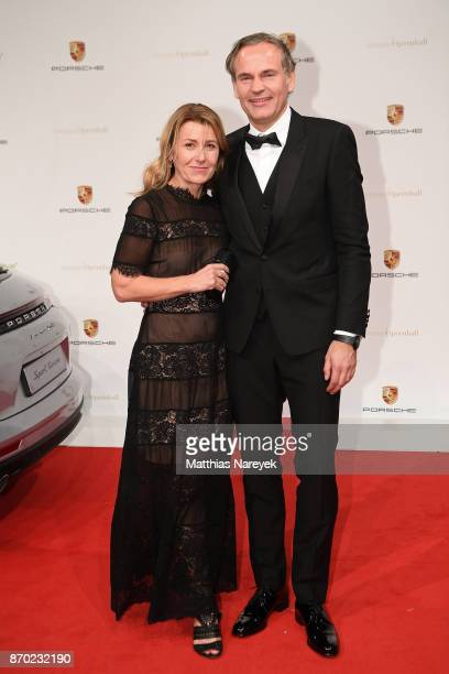 Oliver Blume CEO Porsche AG and his wife Petra Blume attend the Leipzig Opera Ball on November 4 2017 in Leipzig Germany