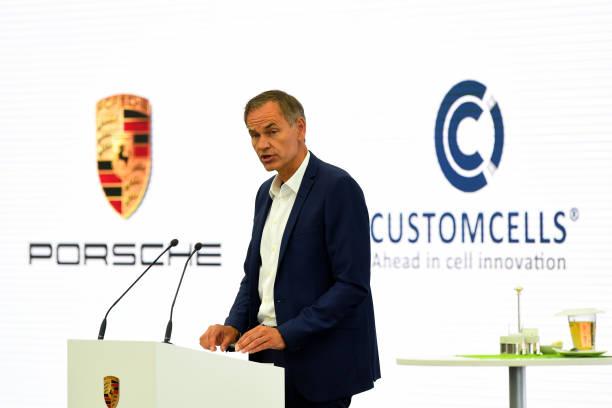 DEU: Porsche AG Announces Joint Venture With Lithium-Ion Battery Specialist