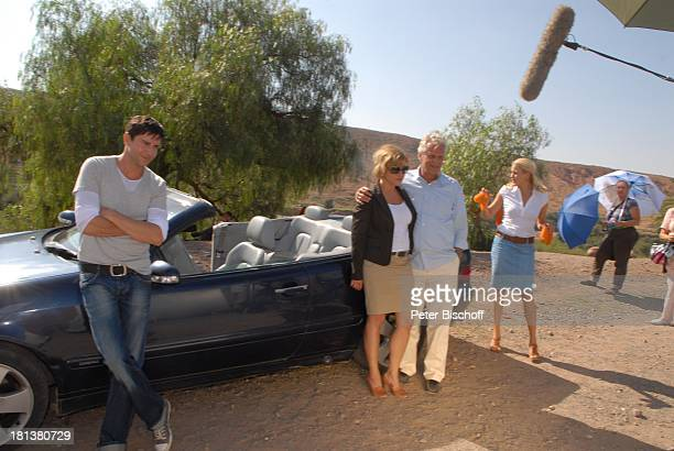 Oliver Bootz Muriel Baumeister TVEhemann Peter Sattmann EvaMaria Grein ZDFReihe Kreuzfahrt ins Glück Folge Nr 9 Marokko bei Tahanoute Marokko...