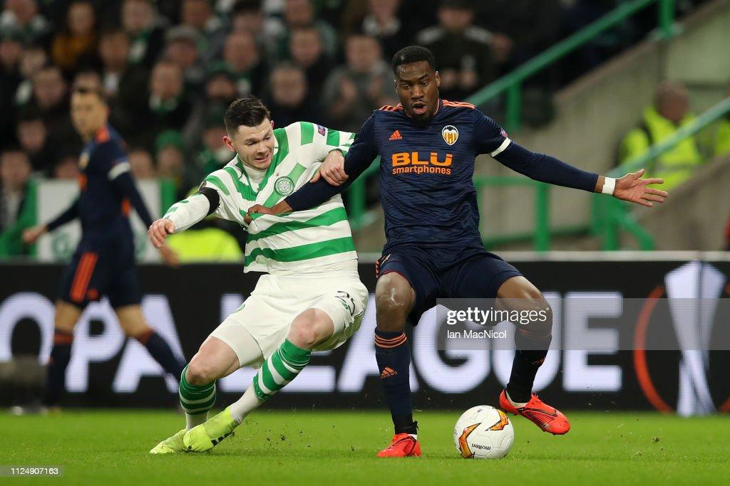 Celtic v Valencia - UEFA Europa League Round of 32: First Leg : News Photo