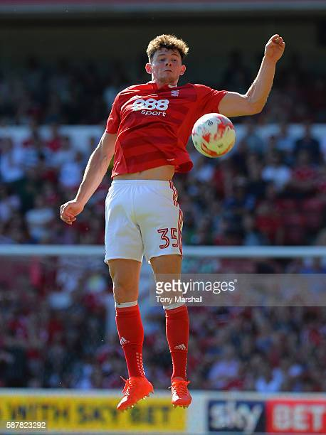 Oliver Burke of Nottingham Forest during the Sky Bet Championship match between Nottingham Forest and Burton Albion at City Ground on August 6 2016...