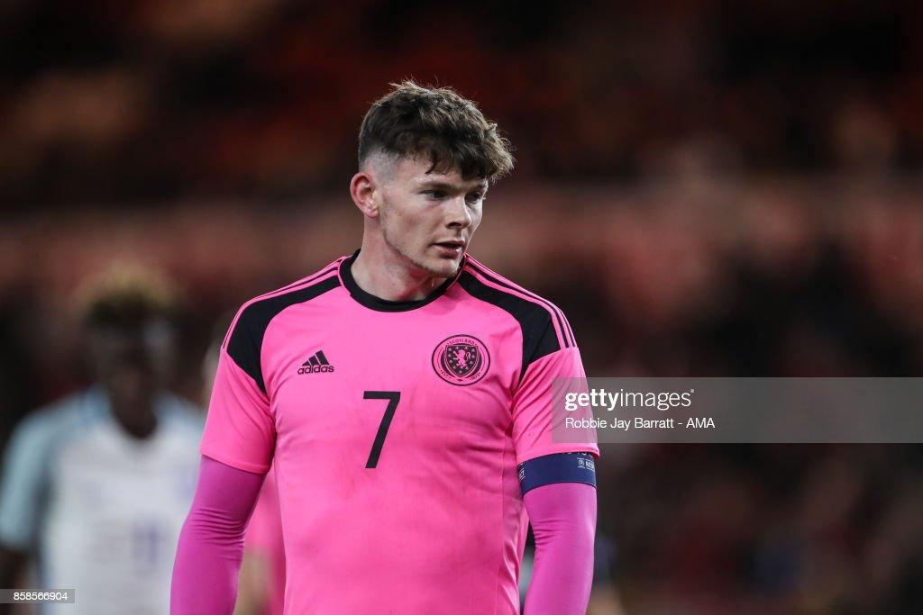 England U21 v Scotland U21 - UEFA European Under 21 Championship Qualifiers : News Photo
