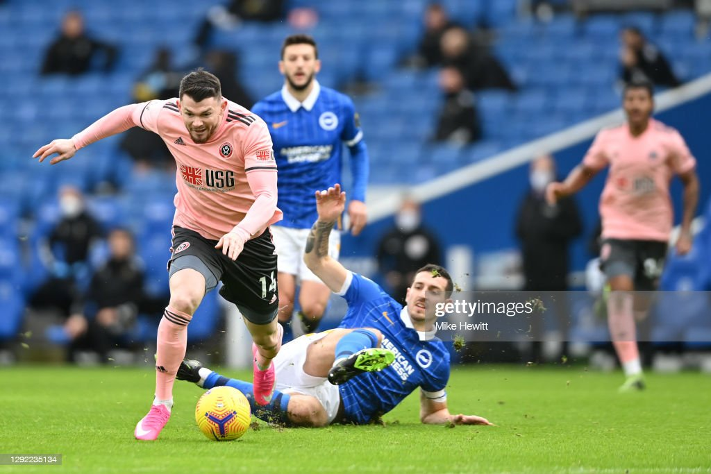 Brighton & Hove Albion v Sheffield United - Premier League : ニュース写真