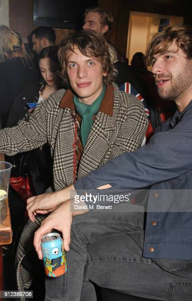 Oliver Burslem attends the ALEXACHUNG Fantastic collection party on January 30 2018 in London England