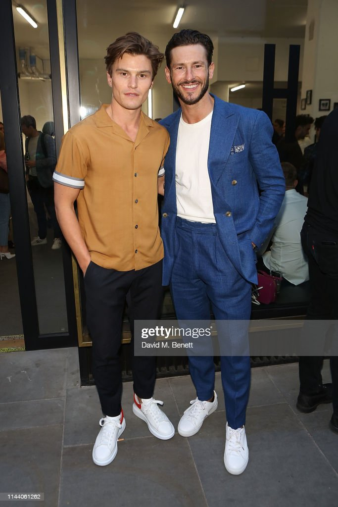GBR: Oliver Cheshire Launches His New Resort Wear Collection 'CHE'