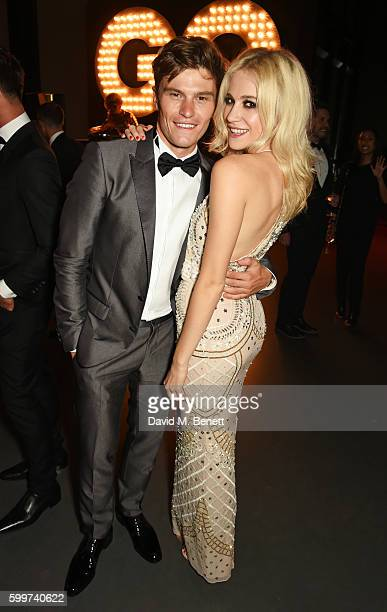 Oliver Cheshire and Pixie Lott attend the GQ Men Of The Year Awards 2016 after party at the Tate Modern on September 6 2016 in London England