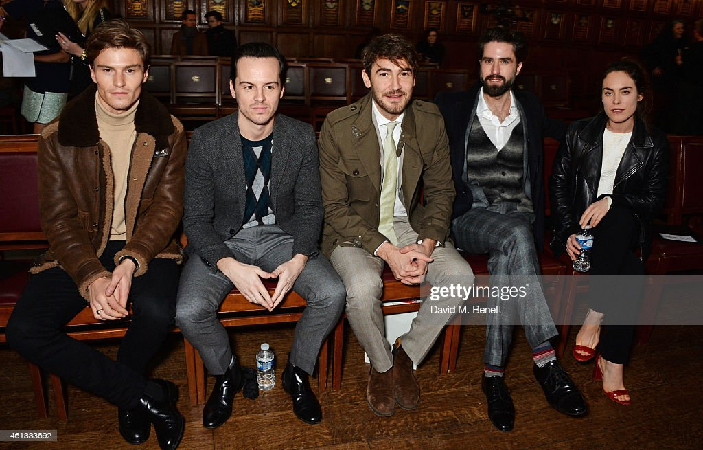 Pringle Of Scotland Autumn/Winter 2015 Menswear Runway Show, London Collections: Mens
