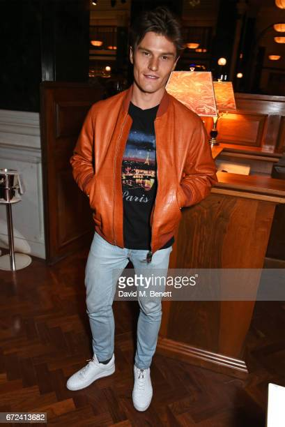 Oliver Cheshire attends a preopening dinner hosted by Ed Drewett at Malibu Kitchen at The Ned London on April 24 2017 in London England
