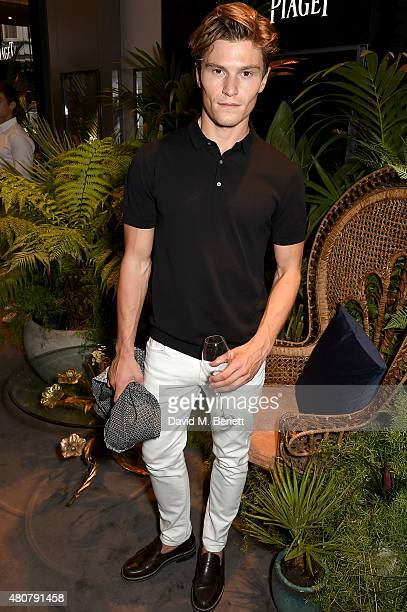 Oliver Cheshire attends Piaget 'Mediterranean Garden' Summer Party on July 15 2015 in London England