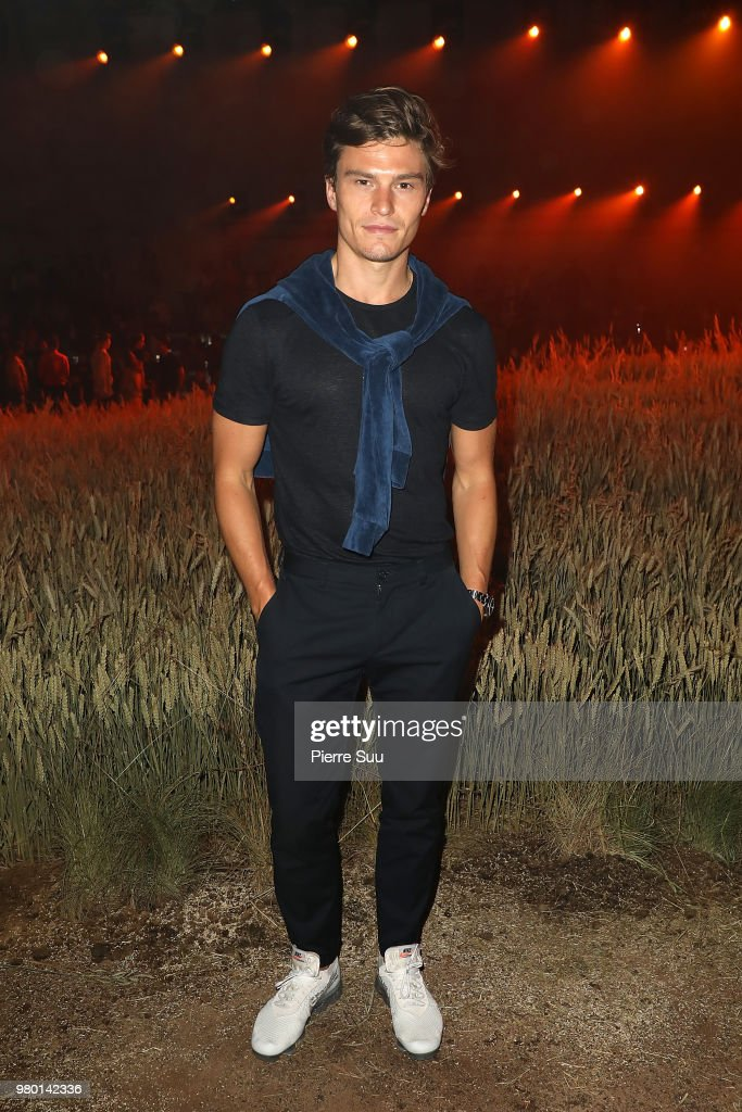 Ami Alexandre Mattiussi: Front Row - Paris Fashion Week - Menswear Spring/Summer 2019