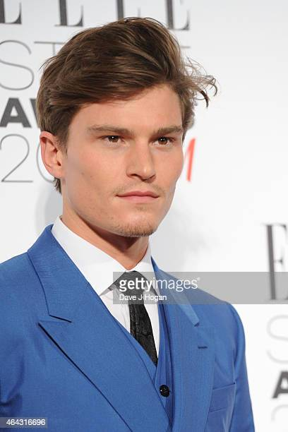 Oliver Cheshire attends the Elle Style Awards 2015 at Sky Garden @ The Walkie Talkie Tower on February 24 2015 in London England