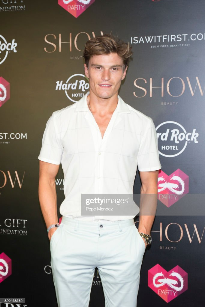 Oliver Cheshire attends the Global Gift Gala party at STK Ibiza on July 21, 2017 in Ibiza, Spain.