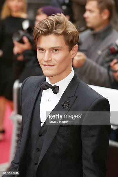 Oliver Cheshire attends the GQ Men Of The Year Awards at The Royal Opera House on September 8 2015 in London England