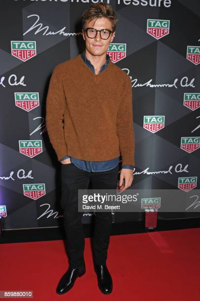 Oliver Cheshire attends the launch of the TAG Heuer Muhammad Ali Limited Edition Timepieces at BXR Gym on October 10 2017 in London England