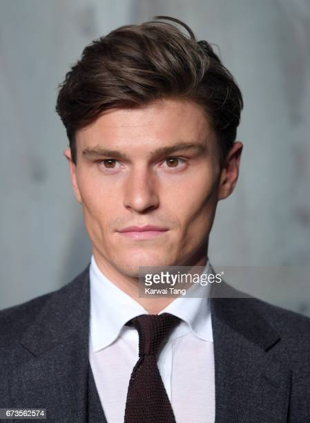 Oliver Cheshire attends the Lost In Space event to celebrate the 60th anniversary of the OMEGA Speedmaster at the Tate Modern on April 26 2017 in...