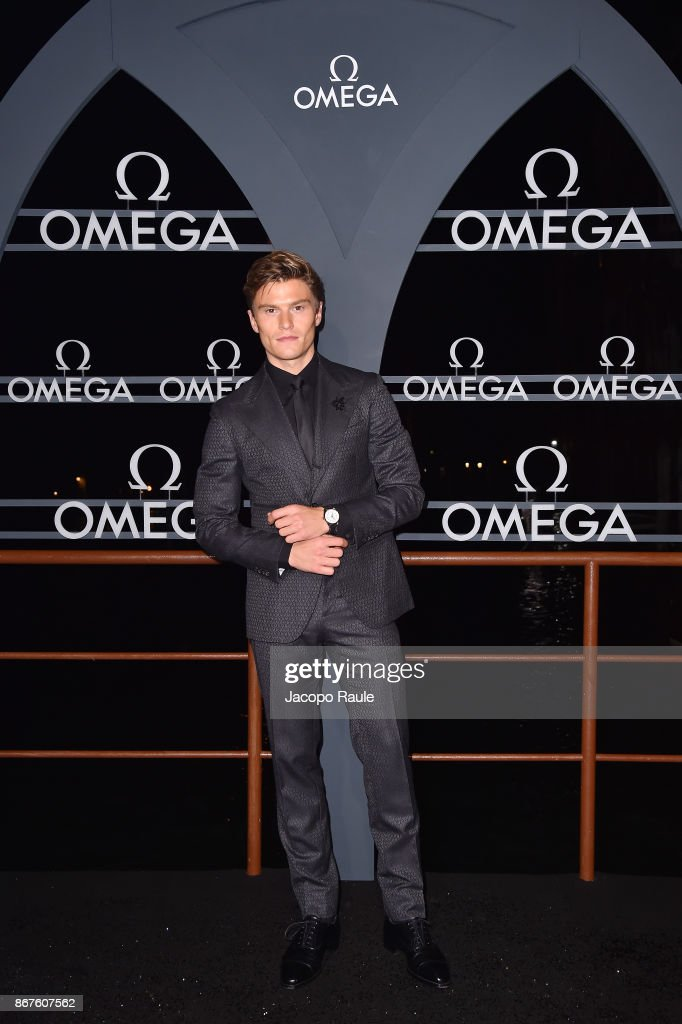Oliver Cheshire attends the OMEGA Aqua Terra at Palazzo Pisani Moretta on October 28, 2017 in Venice, Italy.