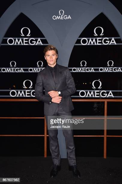 Oliver Cheshire attends the OMEGA Aqua Terra at Palazzo Pisani Moretta on October 28 2017 in Venice Italy