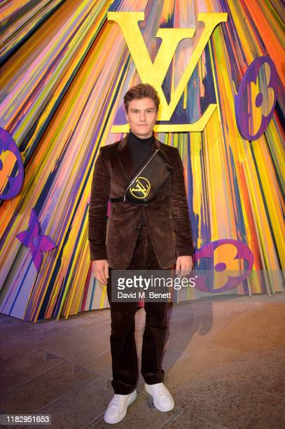 Oliver Cheshire attends the reopening of the Louis Vuitton New Bond Street Maison Reopening on October 23 2019 in London United Kingdom