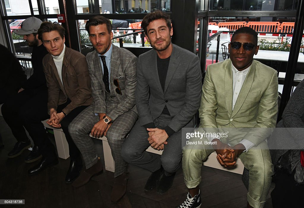 Richard James - Front Row - London Collections Men AW16