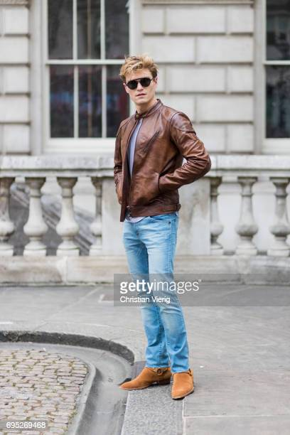 Leather Jacket Stock Photos And Pictures