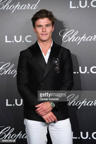 Oliver Chesire attends the Chopard Gentleman's Night during the 71st annual Cannes Film Festival at Martinez Hotel on May 9 2018 in Cannes France