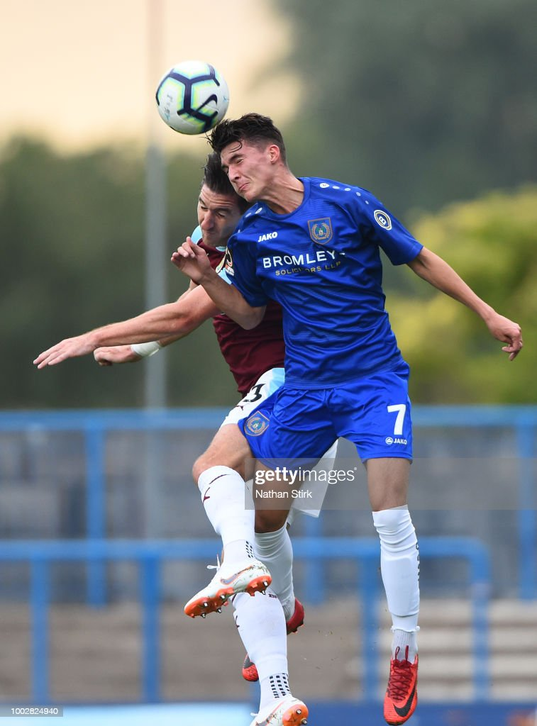 Curzon Ashton v Burnley - Pre-Season Friendly