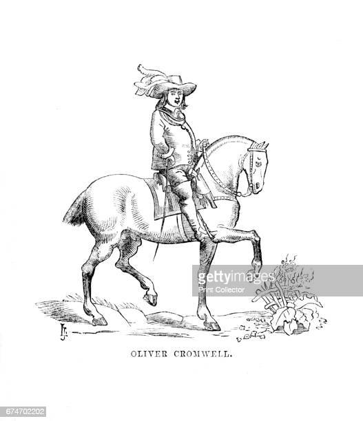 Oliver Cromwell', c1870. Oliver Cromwell was an English military and political leader and later Lord Protector of the Commonwealth of England. The...