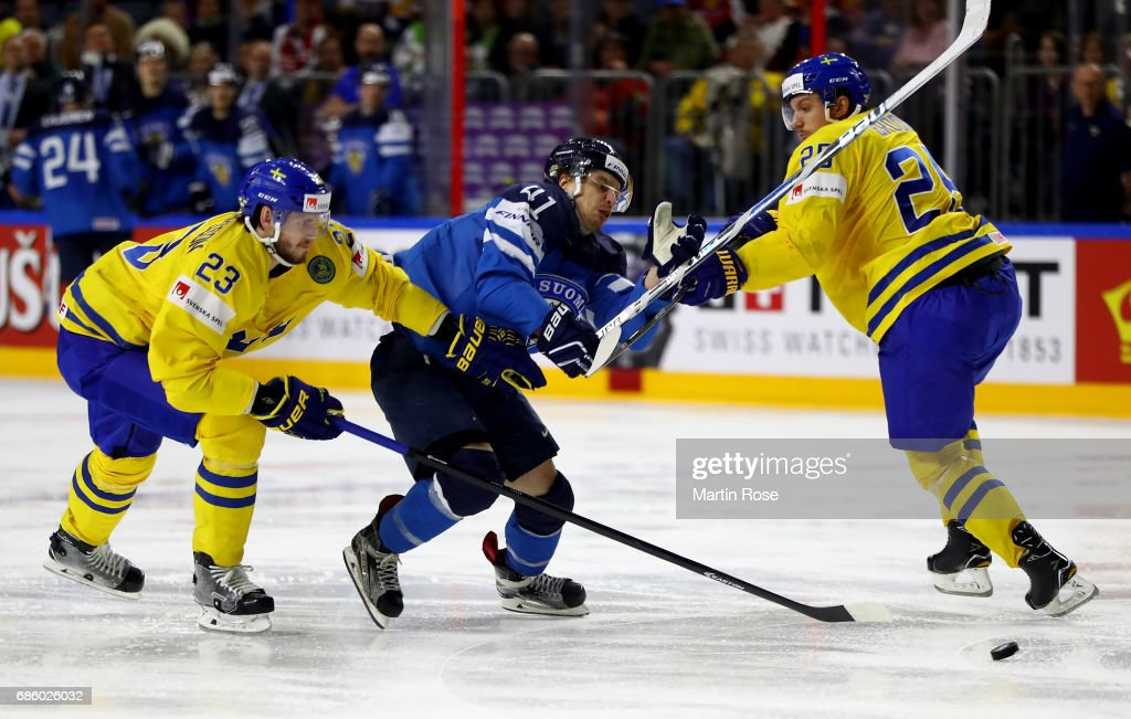 Sweden v Finland - 2017 IIHF Ice Hockey World Championship - Semi Final
