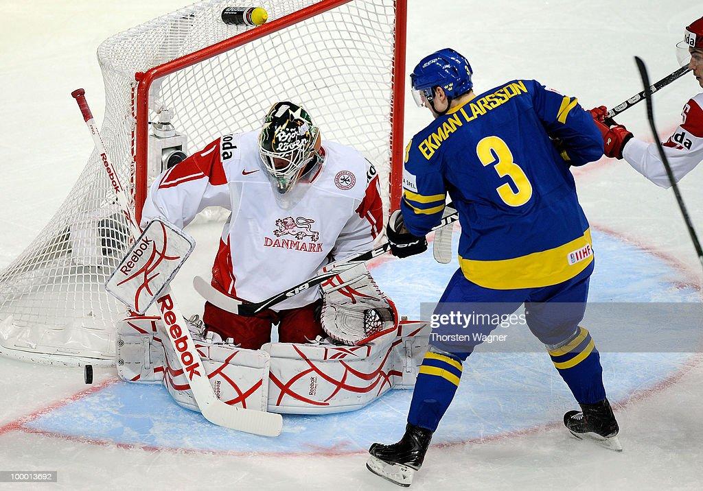 Sweden v Denmark - 2010 IIHF World Championship