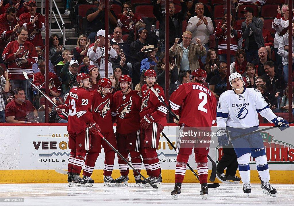 Tampa Bay Lightning v Phoenix Coyotes : News Photo