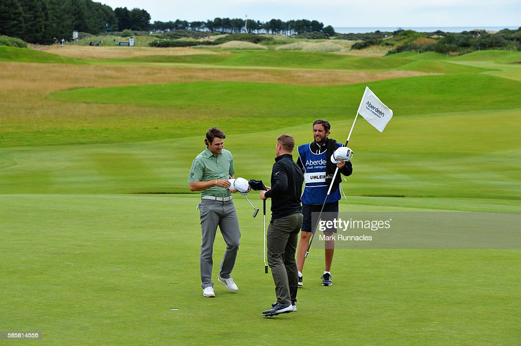 Aberdeen Asset Management Paul Lawrie Matchplay - Day One