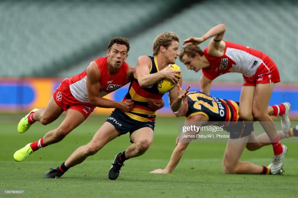 AFL Rd 1 - Adelaide v Sydney : News Photo